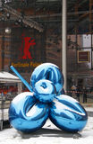 Berlinale. CIRCA FEBRUARY 2010 - BERLIN: a Jeff Koons sculpture in front of the Berlinale Palast during the Berlinale Film Festival 2010, Berlin Royalty Free Stock Photography