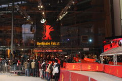 Berlinale Palast 2011 Royalty Free Stock Image