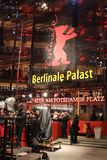Berlinale Palast exterior during the 68th Berlinale Film Festival. Berlin, Germany - February 22, 2018: Facade of the Berlinale Palast in Berlin or the Theater Royalty Free Stock Images