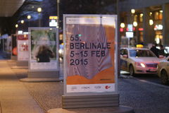 Berlinale plakaty Obraz Royalty Free