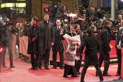 Berlinale2013,伊莎贝拉Rosselini 免版税库存照片