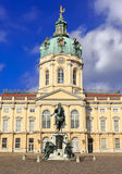 BerlinCharlottenburg Palace, famous tourist destination in Berlin, Germany, Schloss Charlottenburg, beliebtes Ausflugsziel in Berl Royalty Free Stock Image