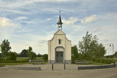 Berlindekapel- restaurated chapel Royalty Free Stock Photo