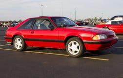 Berline avec hayon arrière 1989 du GT de mustang de Ford Photographie stock
