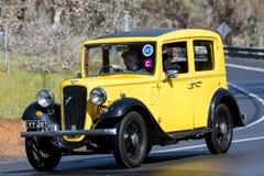 Berline 1935 d'Austin 10/4 Lichfield Image libre de droits