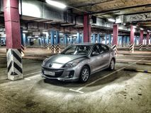 Berline 2012 de Mazda 3 Image stock