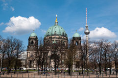 The Berliner Dom Stock Image