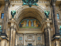 Berliner Dom. Detail of Berlin Cathedral or Berliner Dom in Berlin, Germany Stock Image