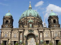 berliner dom obraz royalty free
