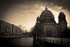 Berliner dom. Berlin. Royalty Free Stock Photo