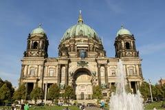 Berliner Dom Berlin Royaltyfria Bilder