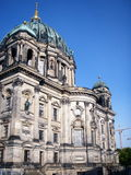 Berliner Dom (Berlin Cathedral). The Berliner Dom in Berlin, Germany, is an impressive basilica known as the Protestant St. Peter's. The present Baroque Royalty Free Stock Photo