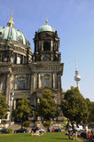 THE BERLINER DOM OR BERLIN CATHEDRAL Stock Photos