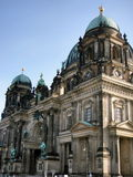 Berliner Dom (Berlin Cathedral) ALEXANDERPLATZ. The Berliner Dom in Berlin, Germany, is an impressive basilica known as the Protestant St. Peter's. The present Royalty Free Stock Image
