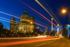 Berliner Dom or Berlin Cathedral in Germany Stock Photo