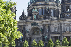 Berliner Dom. The biggest cathedral in Berlin Royalty Free Stock Image
