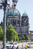 Berliner Dom. The biggest cathedral in Berlin Stock Photo