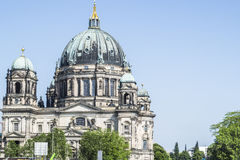 Berliner Dom. The biggest cathedral in Berlin Royalty Free Stock Photos