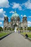 Berliner Dom Cathedral Royaltyfria Foton