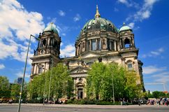 Berliner Dom cathedral church in Berlin, Germany Stock Photos