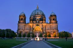 Berliner Dom cathedral church in Berlin, Germany. Royalty Free Stock Photography
