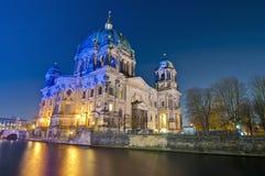 Berliner Dom (de Kathedraal van Berlijn) in Berlijn, Duitsland Royalty-vrije Stock Afbeelding