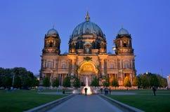 Berliner Dom-domkyrkakyrka i Berlin, Tyskland Royaltyfri Fotografi