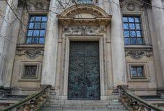 Berliner Dom Door Royaltyfri Bild