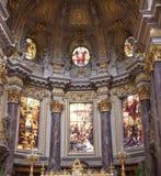 Berliner Dom - Kathedraal van Berlijn, Duitsland stock afbeeldingen