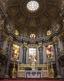 Berliner Dom - Kathedraal van Berlijn, Duitsland royalty-vrije stock fotografie