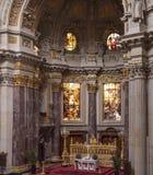 Berliner Dom - Kathedraal van Berlijn, Duitsland stock afbeelding