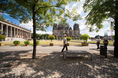 Berliner Dom and Old Museum Royalty Free Stock Photos