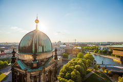 The Berliner Dom and River Spree Royalty Free Stock Photography