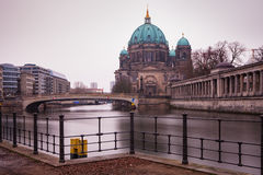 Berliner Dom on Spree River, Germany Royalty Free Stock Image