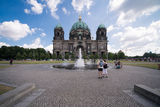 Berliner Dom in the summer of 2013 Royalty Free Stock Photography