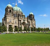Berliner dom. Sunny cathedral in Berlin Stock Photo