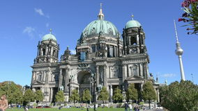 The Berliner Dom stock video footage