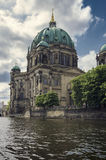 Berliner Dom, view from Spree Royalty Free Stock Image