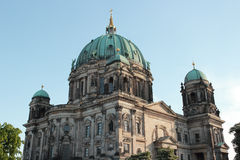 Berliner Dome. Berlin Cathedral the Evangelical Oberpfarr und Domkirche in Berlin, Germany Royalty Free Stock Image