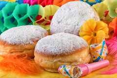 Berliner Donuts or Krapfen Royalty Free Stock Photo