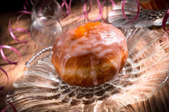 Berliner doughnut Royalty Free Stock Image