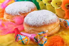 Berliner Doughnut or Krapfen Royalty Free Stock Photography