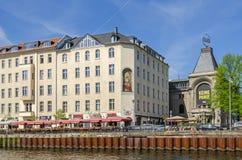 Berliner Ensemble und die weithin bekannten Standort Ganymed-BH Lizenzfreies Stockbild