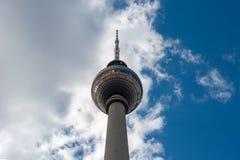 berliner fernsehturm royaltyfria foton
