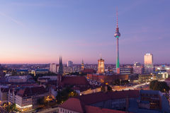 Berliner Fernsehturm Royalty Free Stock Photo