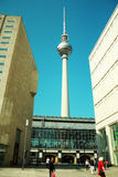 Berliner Fernsehturm, Television Tour Royalty Free Stock Photography