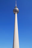 Berliner Fernsehturm. Television Tower in Alexanderplatz, Berlin, Germany Royalty Free Stock Photo
