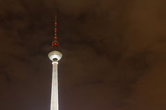 Berliner Fernsehturm (TV Tower), Berlin, Germany Royalty Free Stock Image