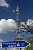 Berliner Funkturm at ICC 03 Royalty Free Stock Images