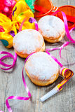 Berliner Krapfen Royalty Free Stock Photos